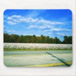Campo del algodón tapetes de ratones
