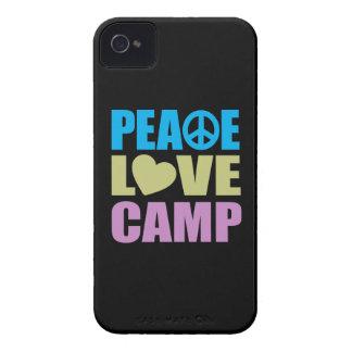 Campo del amor de la paz iPhone 4 Case-Mate cobertura