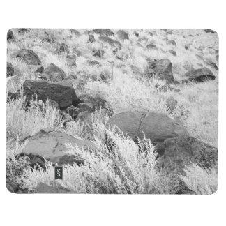 Campo del basalto cuadernos grapados