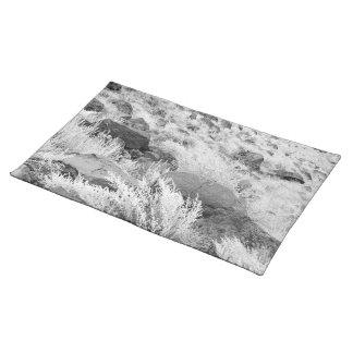 Campo del basalto mantel individual