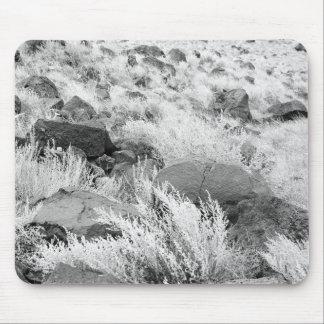 Campo del basalto alfombrilla de raton