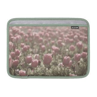 Campo del caso de los tulipanes funda macbook air
