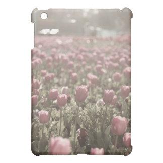 Campo del caso del iPad de los tulipanes