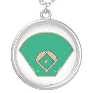 campo del diamante de béisbol joyerías