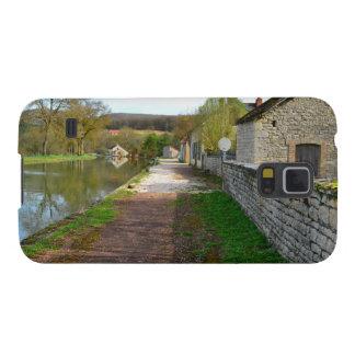 Campo del francés del canal de Rhône Alpes Funda Galaxy S5