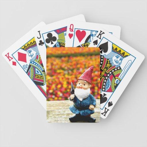 Campo del gnomo barajas de cartas