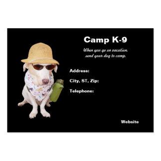 Campo del perrito tarjetas personales