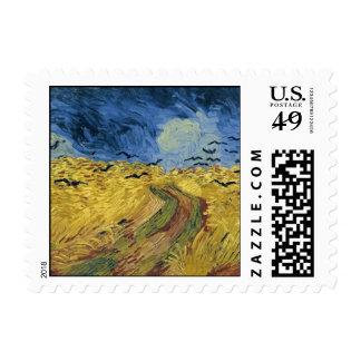 Campo del trigo de Vincent van Gogh con los Sello