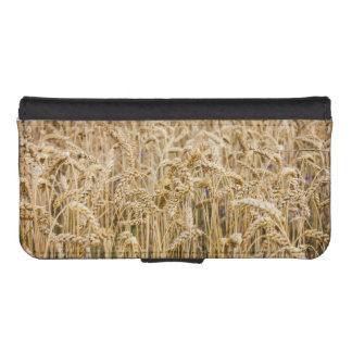 Campo del trigo, granos de oro cartera para iPhone 5