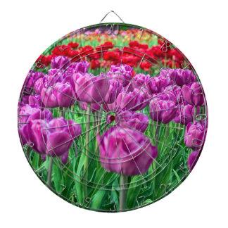Campo del tulipán tablero dardos