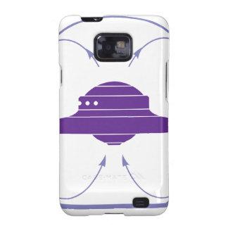 Campo del UFO Samsung Galaxy S2 Carcasas