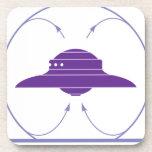 Campo del UFO Posavasos De Bebidas