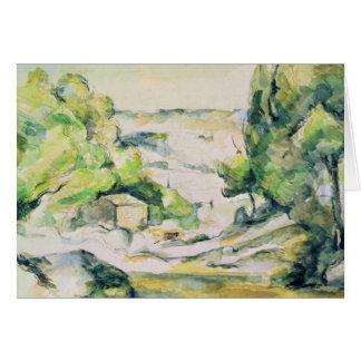 Campo en Provence Tarjetón