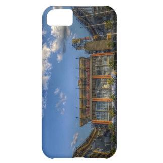 Campo financiero de Lincoln - el Linc Carcasa Para iPhone 5C