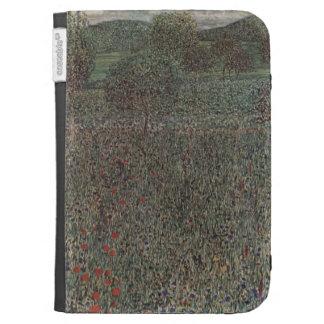 Campo floreciente de Gustavo Klimt-