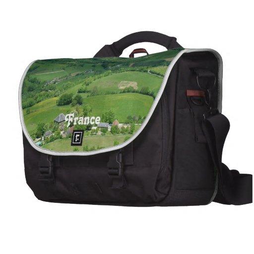 Campo francés bolsas de portatil