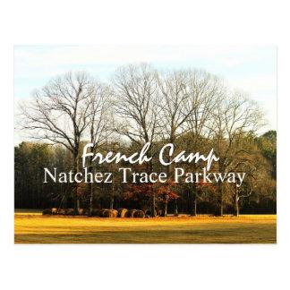 Campo francés - postal de la ruta verde del rastro
