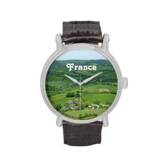 Campo francés relojes de mano