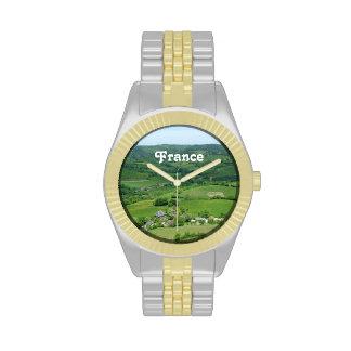 Campo francés relojes