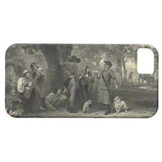 Campo gitano 1891 iPhone 5 Case-Mate protectores