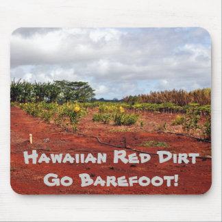 Campo hawaiano escénico de la plantación tapete de raton