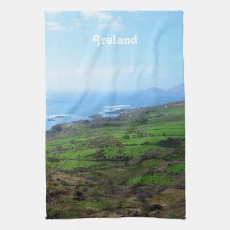 Campo irlandés toalla