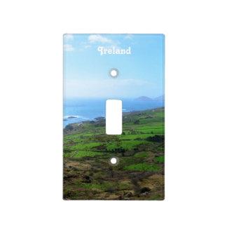 Campo irlandés placas para interruptor