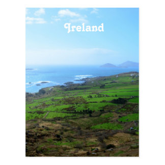 Campo irlandés tarjetas postales