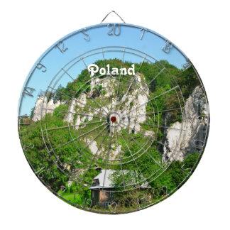 Campo polaco tabla dardos