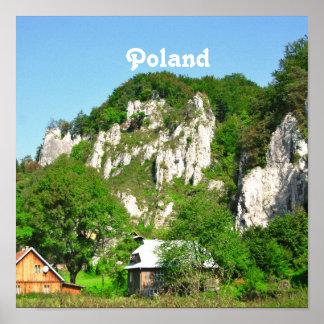 Campo polaco impresiones