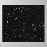 Campo profundo extremo de Hubble Impresiones