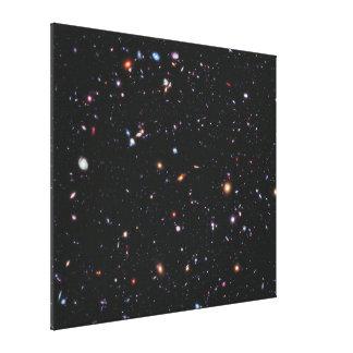 Campo profundo extremo de Hubble Lona Estirada Galerias