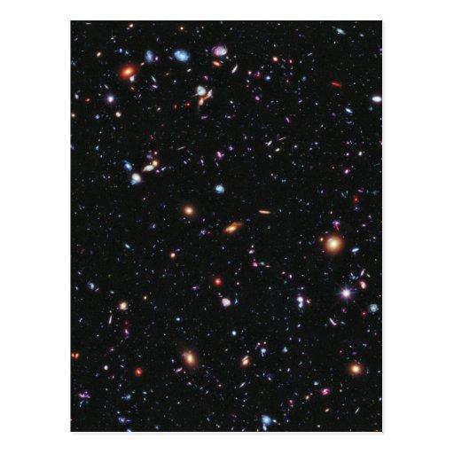 Campo profundo extremo de Hubble Tarjetas Postales