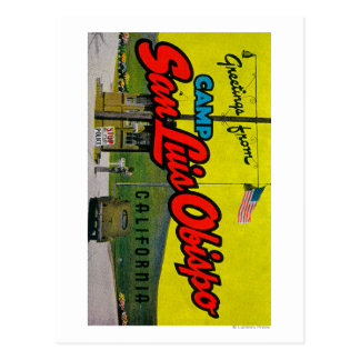Campo San Luis Obispo, California Postal