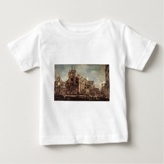 Campo Santi Giovanni e Paolo by Francesco Guardi Baby T-Shirt