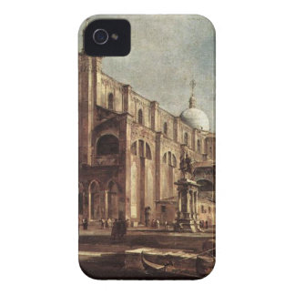 Campo Santi Giovanni e Paolo by Francesco Guardi iPhone 4 Case-Mate Case