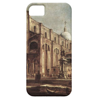 Campo Santi Giovanni e Paolo by Francesco Guardi iPhone SE/5/5s Case