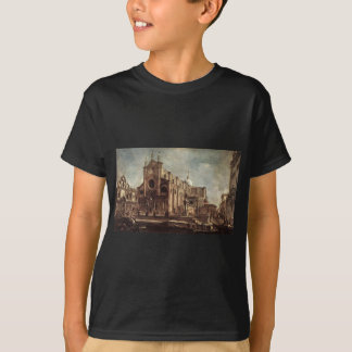 Campo Santi Giovanni e Paolo by Francesco Guardi T-Shirt
