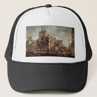 Campo Santi Giovanni e Paolo by Francesco Guardi Trucker Hat