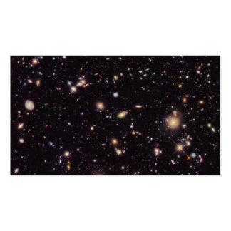 Campo ultra profundo 2012 de Hubble Tarjetas De Visita