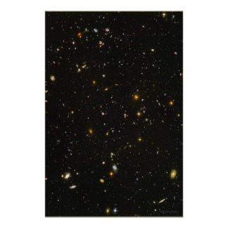Campo ultra profundo 20x30 (20x30) de Hubble Póster