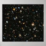 Campo ultra profundo de Hubble Posters