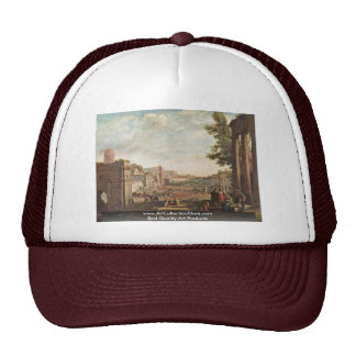 Campo Vaccino By Lorrain Claude Trucker Hat