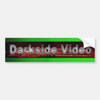 campo video Paintball del lado oscuro Pegatina Para Auto