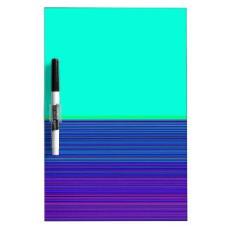 Campo y rayas reconstruidos de color de Roberto S. Pizarras Blancas