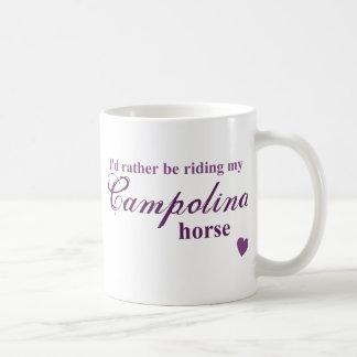 Campolina horse coffee mug