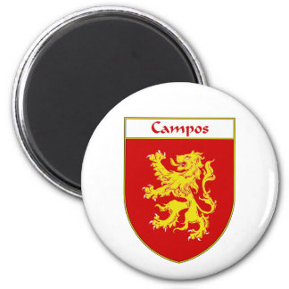 Campos Coat of Arms/Family Crest Magnet