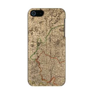 Campos de batalla y caminos franceses carcasa de iphone 5 incipio feather shine