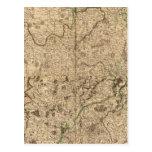 Campos de batalla y caminos romanos tarjetas postales
