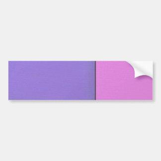 Campos de color geométricos modernos del arte abst etiqueta de parachoque